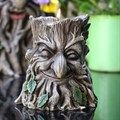 Green Man of the Woods Candle Holder